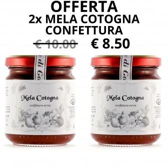 Mela cotogna - Confettura x 2